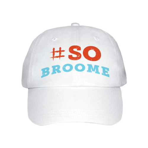 So Broome Peak Cap White