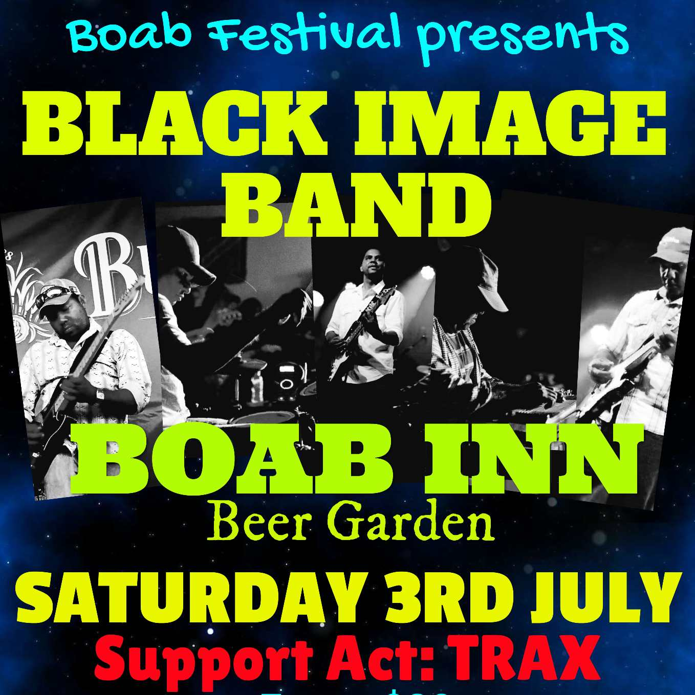 Black Image Band Live in Derby