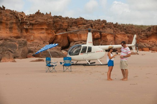 For Someone Special Scenic Helicopter Flight & Beach Picnic